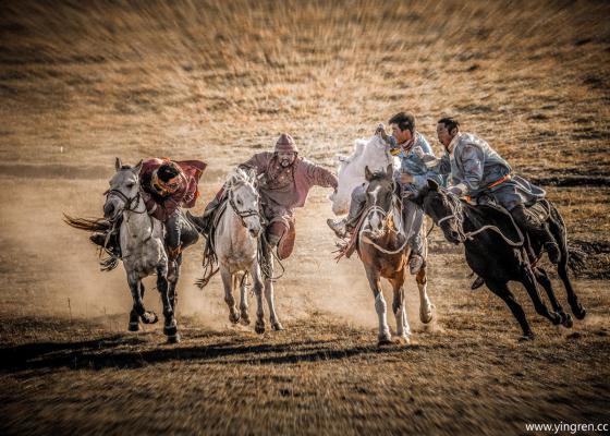 马背叼羊的勇士们-瞬间永恒