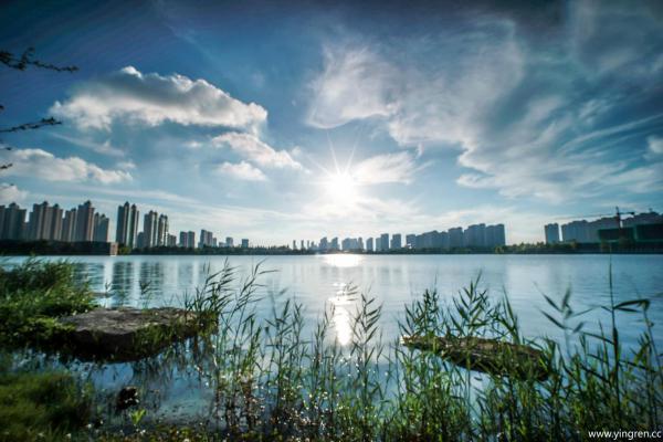 美丽的星海湖-迟秋莎