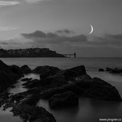 月光下的海-王建设